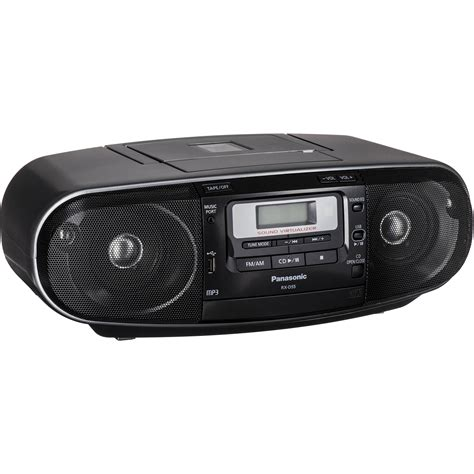 cd radio cassette player panasonic rx d55 cd radio cassette recorder rx d55gc k b h