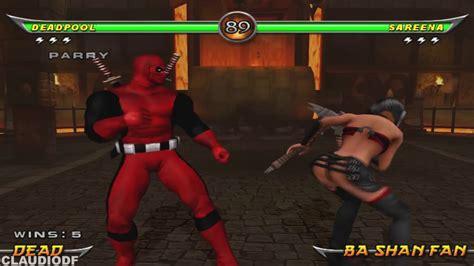 Tas Deadpool mortal kombat armageddon deadpool ps2 tas