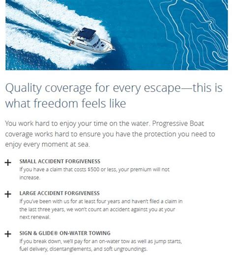 progressive boat insurance sign and glide cast off with a leader in boat insurance natwick