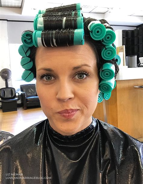 use large rollers when give a permanet wave on long hair i got a perm here s what happened love and marriage