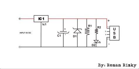 cara membuat powerbank dengan ic 7805 ronan elektron cara membuat powerbank sendiri ala ronan
