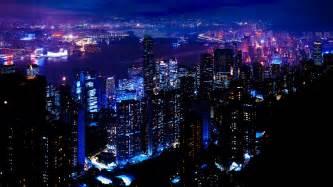 Download Wallpaper 1920x1080 Night, City, Sky, Skyscrapers