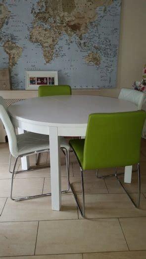 Harvey Norman Dining Table Chairs Ikea White Extendable Dining Table With 4 Harvey Norman Chairs For Sale In Balbriggan Dublin
