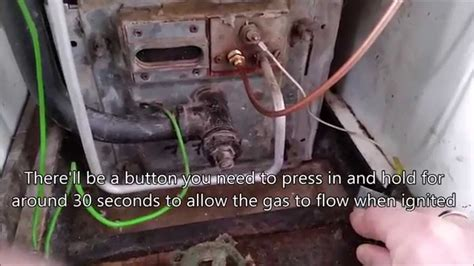 how to light a boiler replacing a thermocouple on a boiler with no pilot light