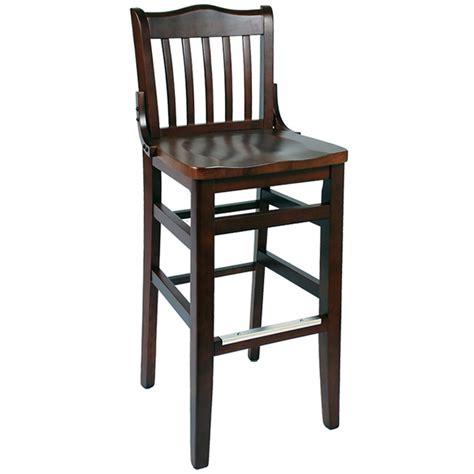 schoolhouse style bar stools schoolhouse wood bar stool
