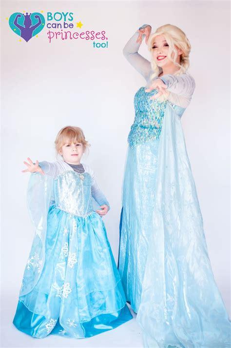 boys dressed  disney princesses popsugar
