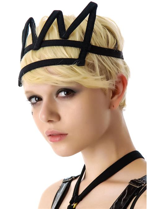 Crown Headband chromat crown headband dolls kill