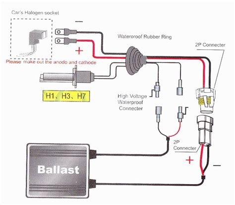 wiring diagram for xenon hid kit wiring wirning diagrams