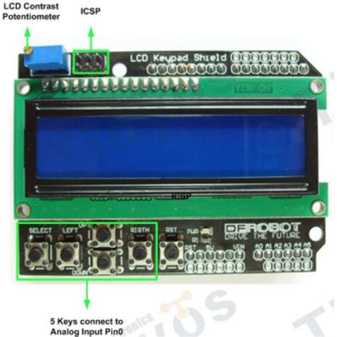 arduino tutorial lcd keypad shield lcd keypad shield for arduino