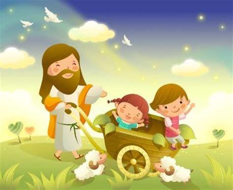 imagenes catolicas de jesus con niños reflexi 243 n cristiana para ni 241 os avanza kids