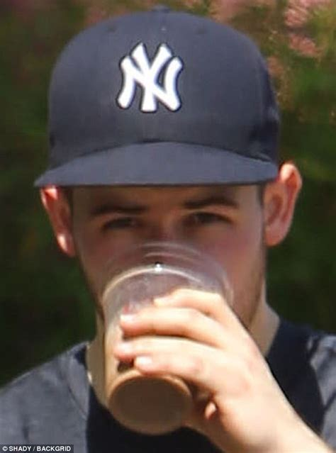 time to fly daily insights from the 48 nick jonas slurps protein drink after the in la