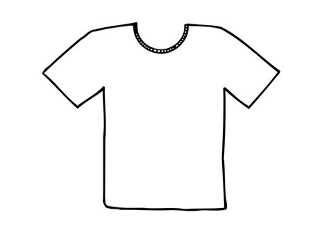 coloring book t shirts kleurplaat t shirt afb 12295