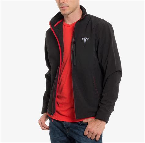s corp jacket black by tesla choice gear