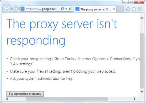 service tool v3400 not responding the halving tech proxy server is not responding windows 8