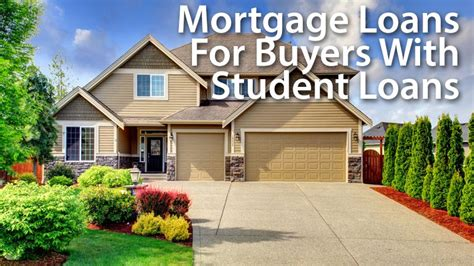 time home buyers guide buying with student loans