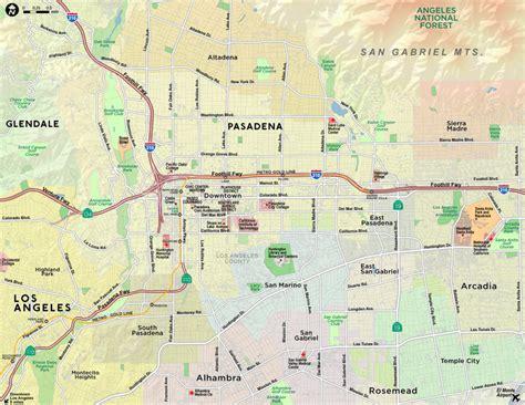california map pasadena paw technologies pasadena california