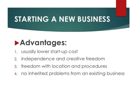 Opts For A New Start by What Are Your Options When You Begin Your Business