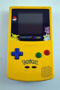 for gameboy color nintendo boy color edition system console