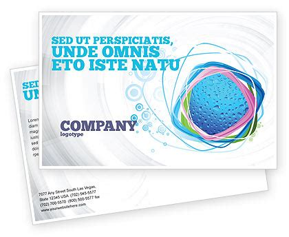 Adobe Indesign Postcard Template by Fresh Dew On The Green Leaf Postcard Template In Microsoft