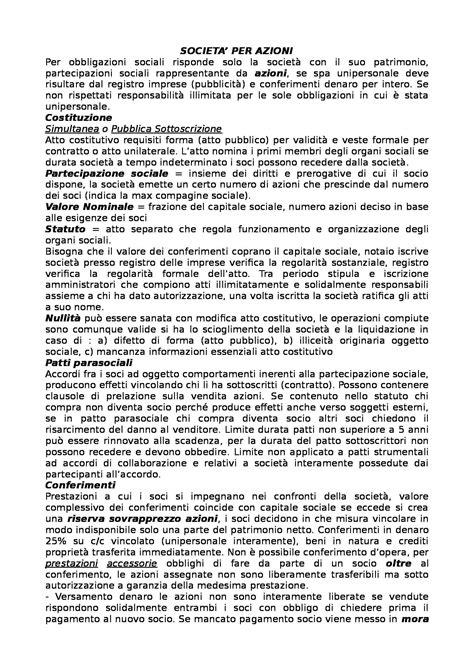 diritto commerciale dispensa diritto commerciale appunti secondo parziale