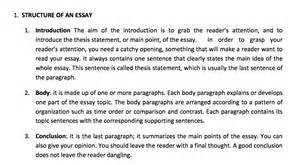Parts Of Writing An Essay by My Just Another Site