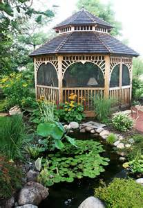 Yard Gazebo by Backyard Gazebo Ideas Quiet Corner