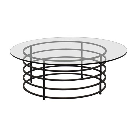 room and board glass coffee table 90 room and board room board glass and