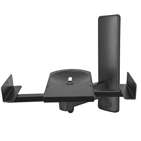 am 40 side cl bookshelf speaker wall mount black
