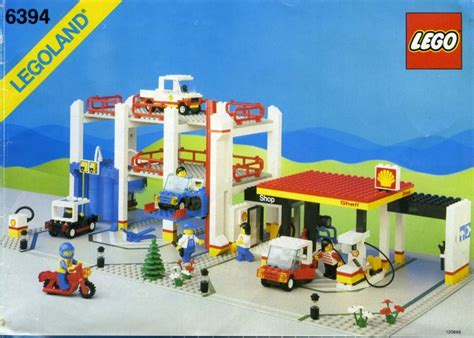 2015 Shell Lego Crossover Garage Display For Sales Onl bricker part lego 3004p60 brick 1 x 2 with shell logo i pattern