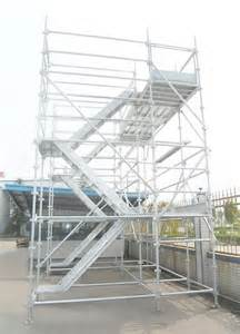 Stair Tower Scaffolding by Dynamic Frame Stair Tower Aluminium Construction