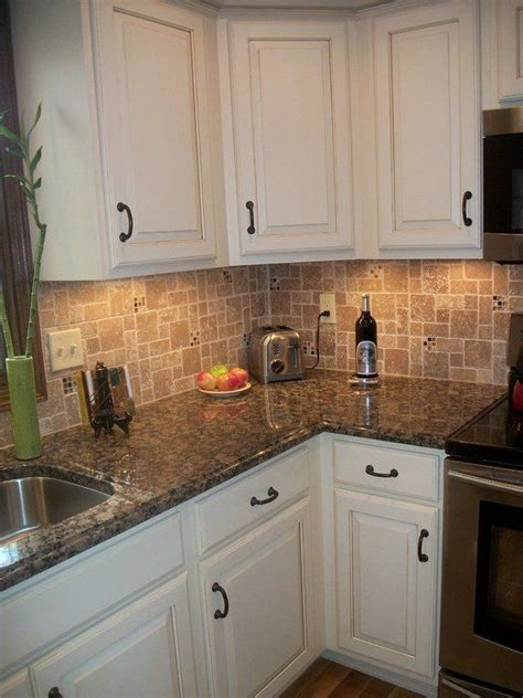 white kitchen cabinets ideas for countertops and backsplash 25 great ideas about brown granite on