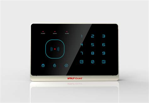 home automation panel app rfid touch keypad