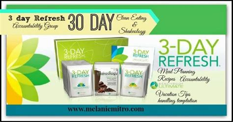 3 Day Refresh Detox by Committed To Get Fit Summer 3 Day Refresh Clean