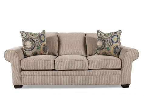 broyhill sectional sleeper sofa broyhill zachary queen sleeper sofa mathis brothers