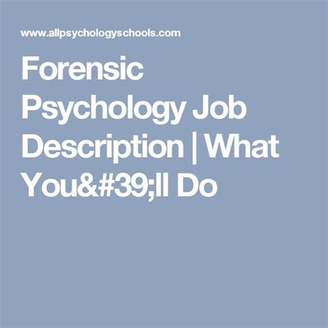 Forensic Psychologist Description by 25 Best Ideas About Psychology On With Psychology Degree Msw Degree And