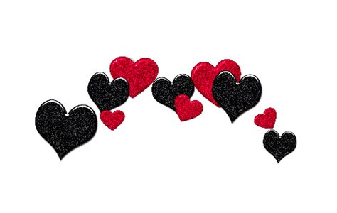imagenes tumblr png love png overlay edit tumblr sticker hearts red black