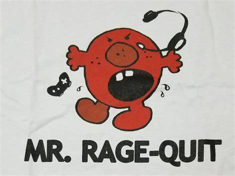 Sweater Rage Guit Logo t shirt de mr rage quit geekbecois