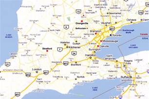reliable index image road map of southwestern ontario