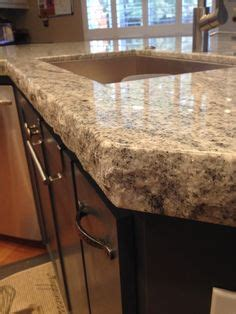 perfect kitchen island granite edges with chiseled edge blue fire leathered granite with a chiseled edge kitchen