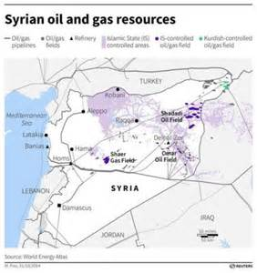 and gas fields map islamic state says seizes second gas field in syria reuters