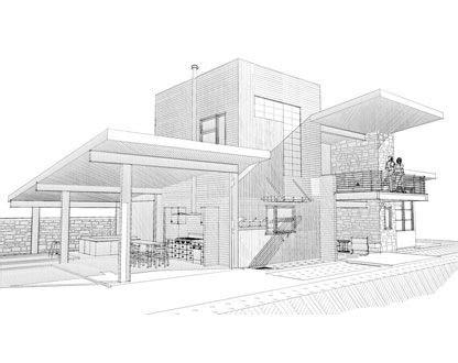 google design fundamentals photos modern house sketch drawings art gallery
