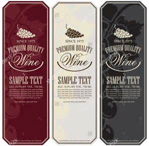 22 wine label templates free sle exle format