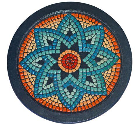 mosaic templates crafts mosaics mandalas on mosaic tables