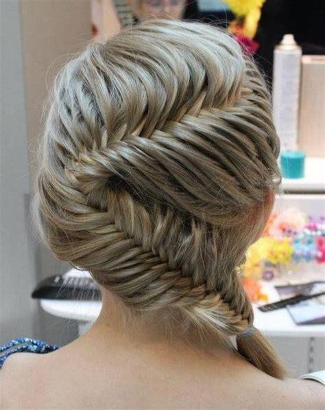 zig zag braids hottest hairstyles 2013 fishtail braid in zig zag