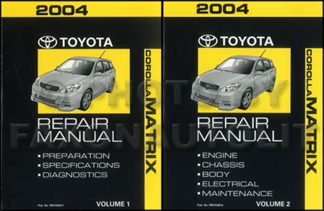 auto repair manual free download 2006 toyota matrix security system 2003 2006 toyota matrix 2wd corolla auto transmission repair shop manual