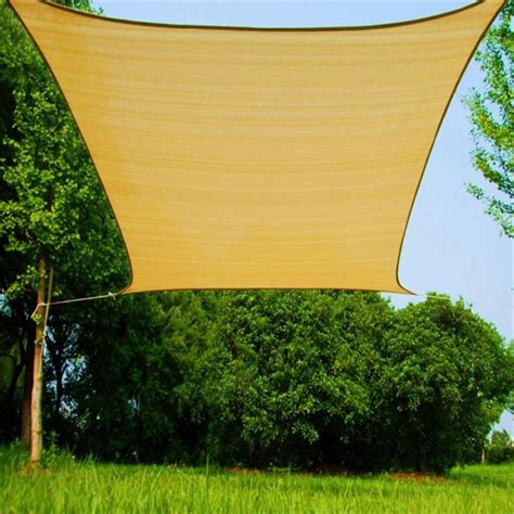 backyard shade sails 2017 shade sail patio covers outdoor size 4m 6m rectangle
