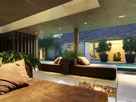 open fire place   Interior Design Ideas.