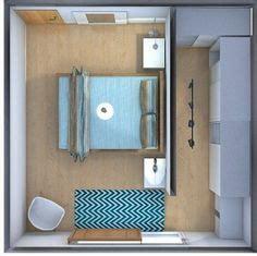 vestidor detras de la cama medidas imagem relacionada interiores pinterest quartos