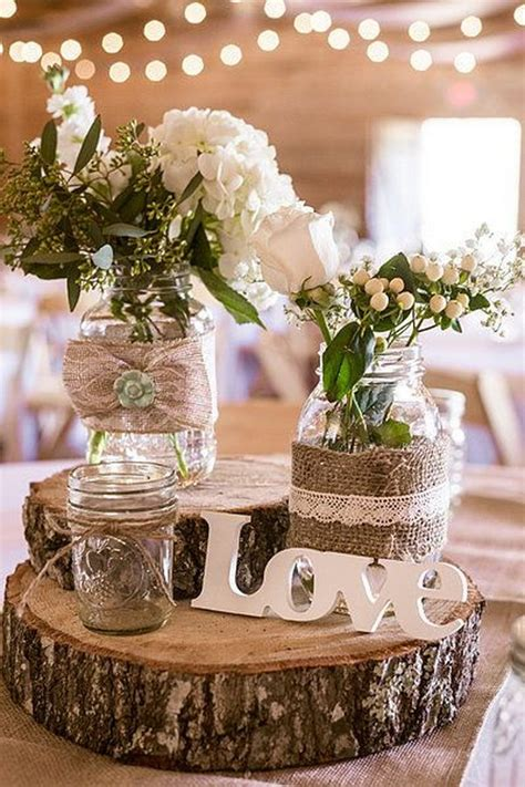 rustic country wedding centerpiece ideas 50 budget friendly rustic real wedding ideas hative