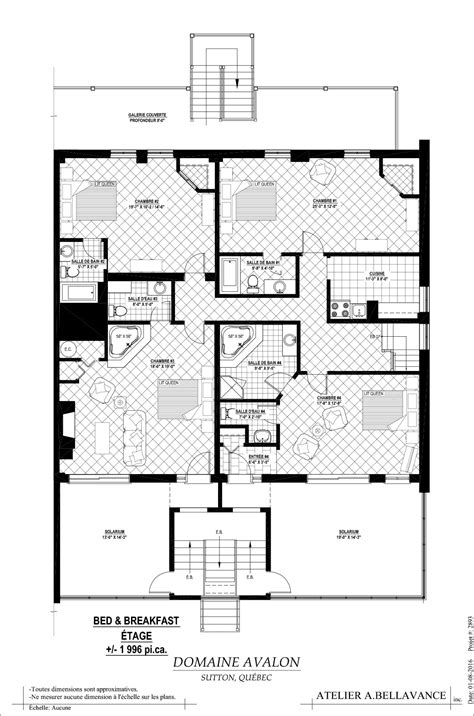 bed and breakfast floor plans bed breakfast first floor